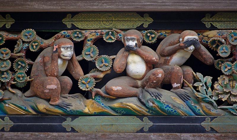 3 weise Affen