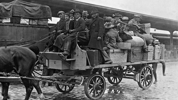 1,5 Millionen wurden 1918 allein aus Westpreußen vertrieben