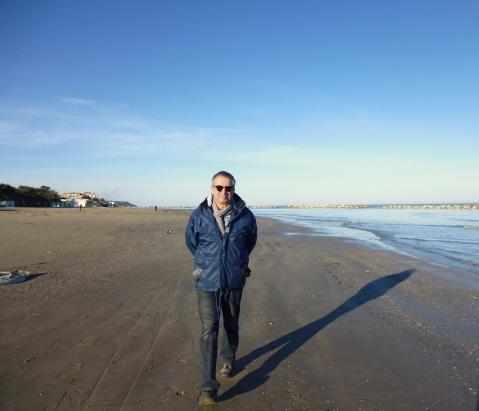 Am Strand der Adria - in Cupra Marittima.