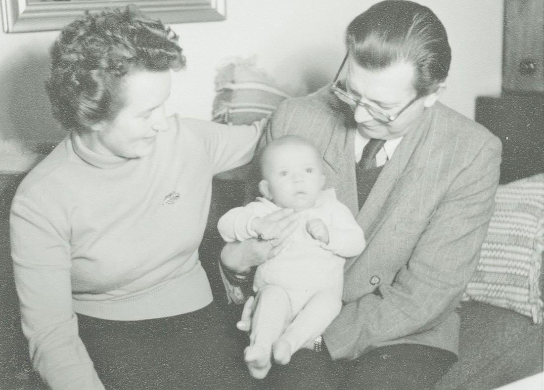 Familie Konitzer, 1954